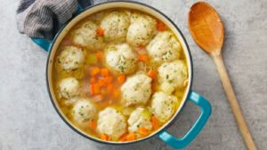 Chicken stew and dumpling recipe